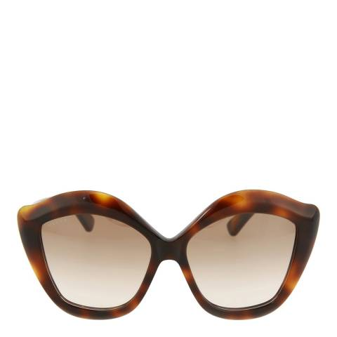 Gucci Women's Tortoiseshell Cat Eye Sunglasses