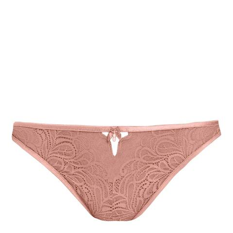 b.tempt'd Rose Smoke Undisclosed Thong