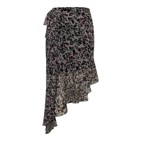 Religion Multi Stage Midi Skirt
