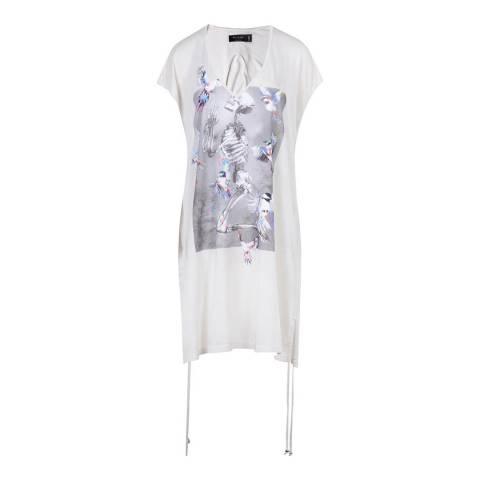 Religion White/Lilac Hero Dress