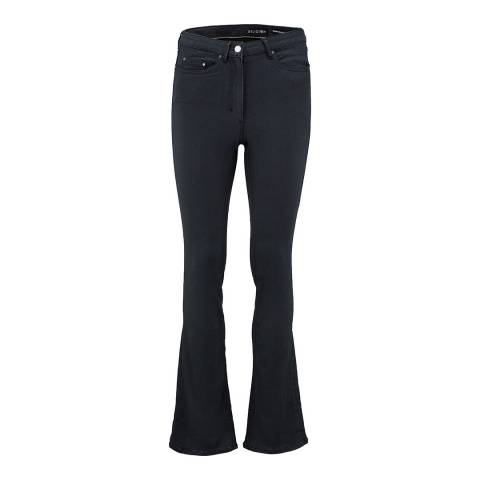 Religion Grey Triumpt Flared High Waisted Jeans