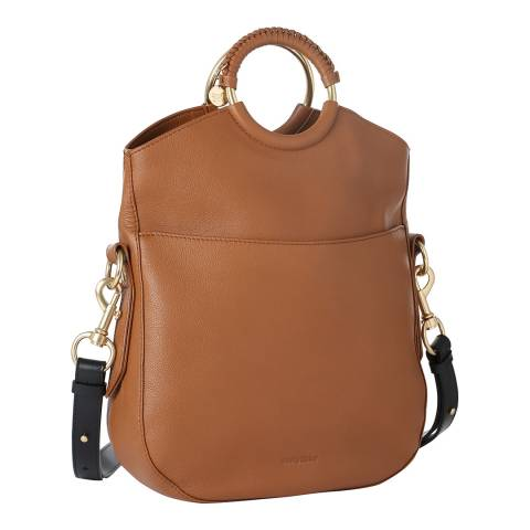 See by Chloe Caramel Chloe Leather Hobo Bag