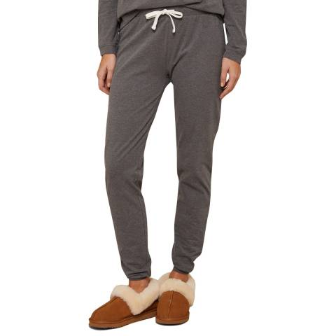 N°· Eleven Charcoal Marl Cotton Jersey Cuffed Pant