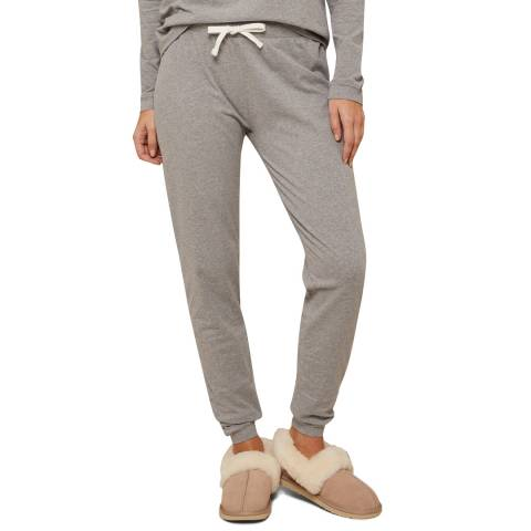 N°· Eleven Grey Marl Cotton Jersey Cuffed Pant