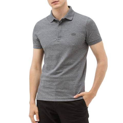 Lacoste Grey Regular Fit Polo Shirt