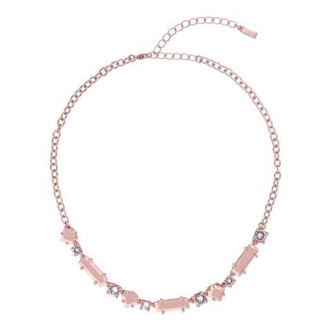 Ted Baker Rose Gold Sarcelle Starlet Stone Necklace