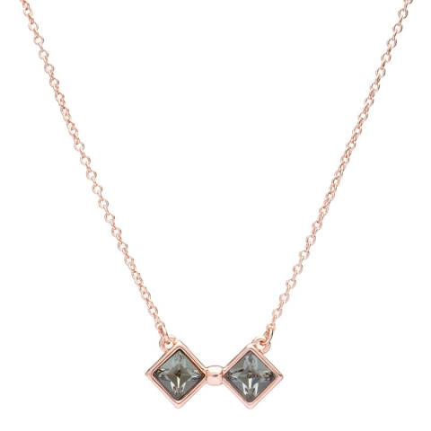 Ted Baker Rose Gold Kaila Large Kite Bow Necklace