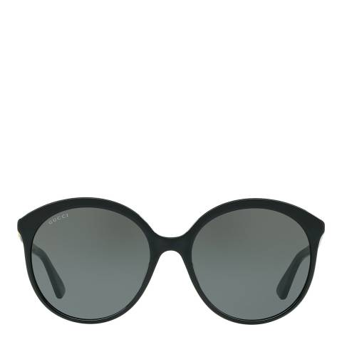 Gucci Women's Black Gucci Sunglasses 57mm