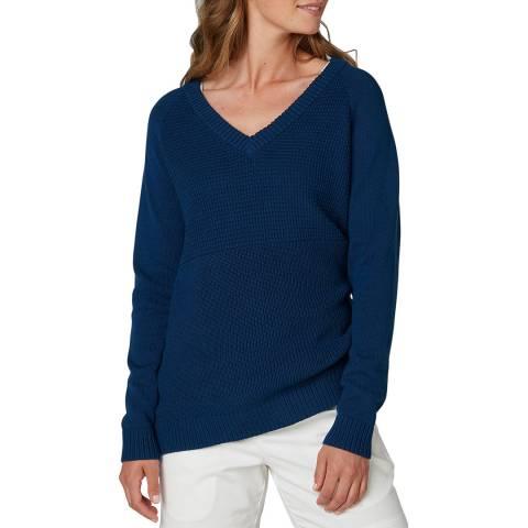 Helly Hansen Women's Dark Blue Fjord Sweatshirt