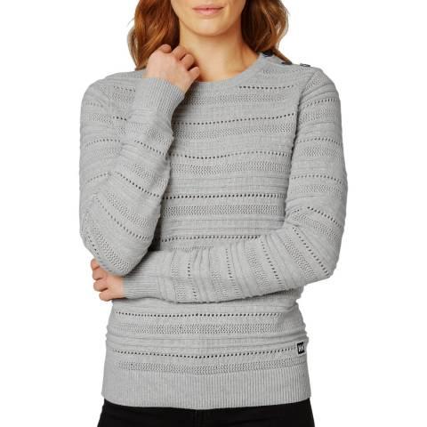 Helly Hansen Women's Grey Skagen Knit Jumper