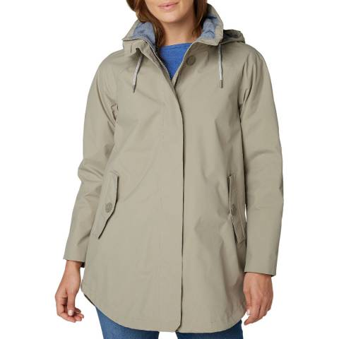 Helly Hansen Women's Beige Sendai Rain Coat