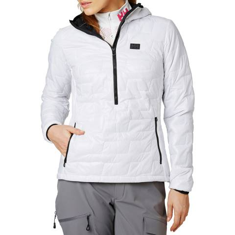 Helly Hansen Women's White Lifaloft Insulator Sweatshirt