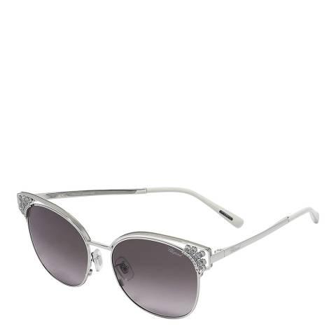 Chopard Women's Grey Chopard Sunglasses 57mm