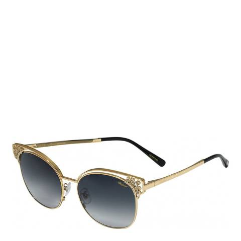 Chopard Women's Gold Chopard Sunglasses 57mm