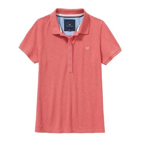Crew Clothing Coral Classic Polo