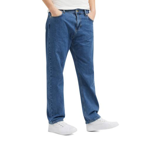 French Connection Blue Fitz True Boyfriend Jeans