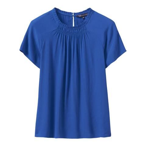 Crew Clothing Blue Frankie Top