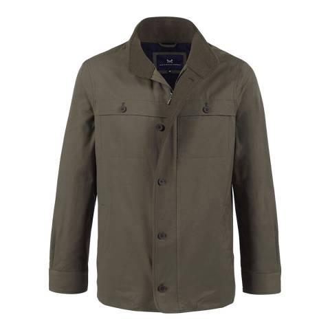 Crew Clothing Khaki Denton Jacket