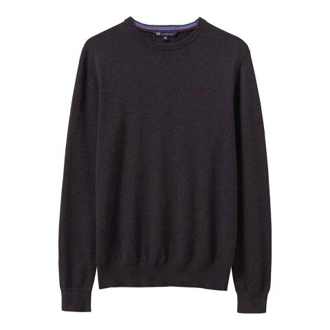 Crew Clothing Charcoal Foxley Jumper