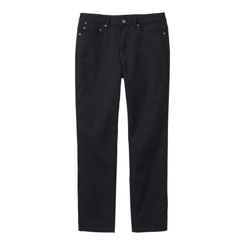 Crew Clothing Black Parker Cord Trousers