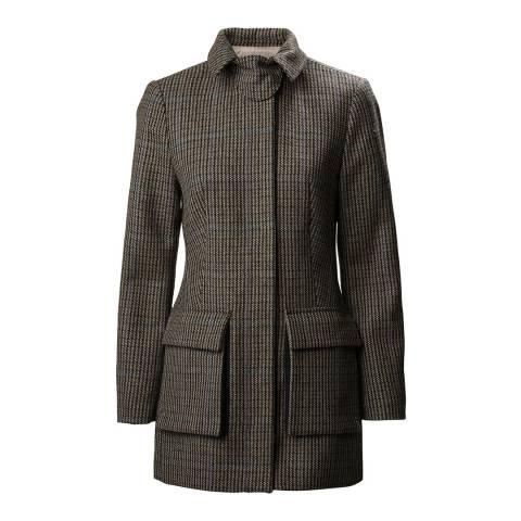 Musto Brown Ashford Wool Coat