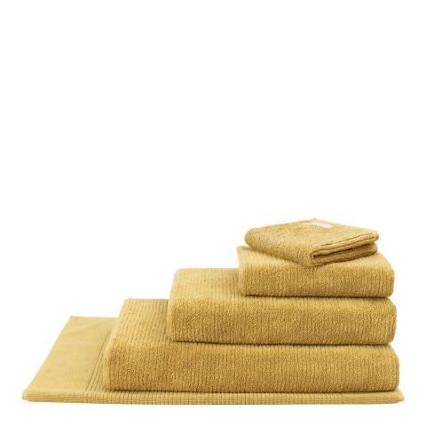 Sheridan Living Textures Bath Sheet, Mustard