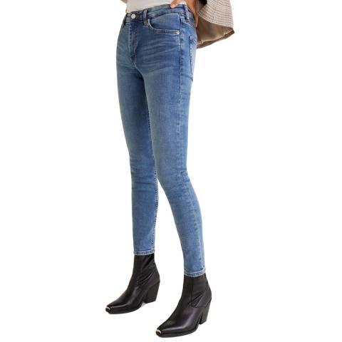 Mango Medium Blue Skinny Olivia Jeans