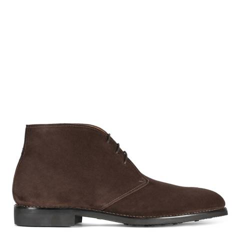 Oliver Sweeney Chocolate Sedgwick Suede Chukka Boot