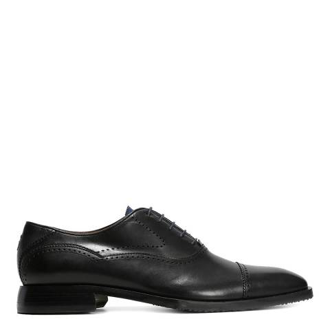 Oliver Sweeney Black Pienza Oxford Brogue Shoe
