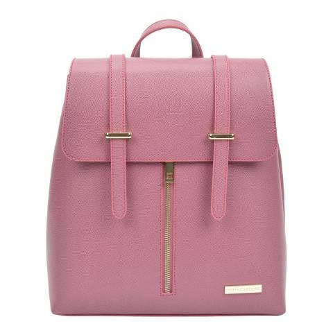 Sofia Cardoni Pink Leather Backpack