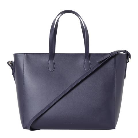 French Connection Utlty Blue/Olive Oil Mia Zip Tote