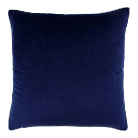 Riva Home Navy/Silver Meridian Cushion 55x55cm