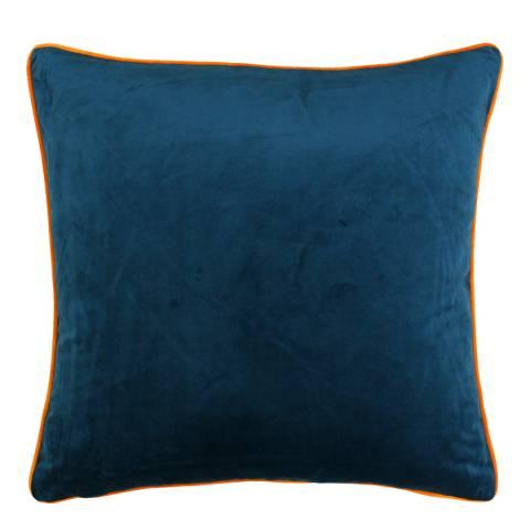 Riva Home Teal/Clementine Meridian Cushion 55x55cm