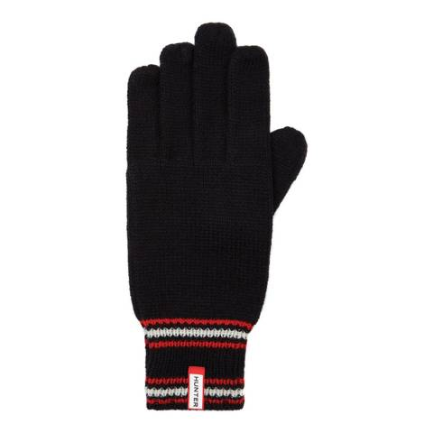 Hunter Black Stripe Detail Gloves