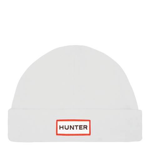 Hunter White Original Fleece Hat