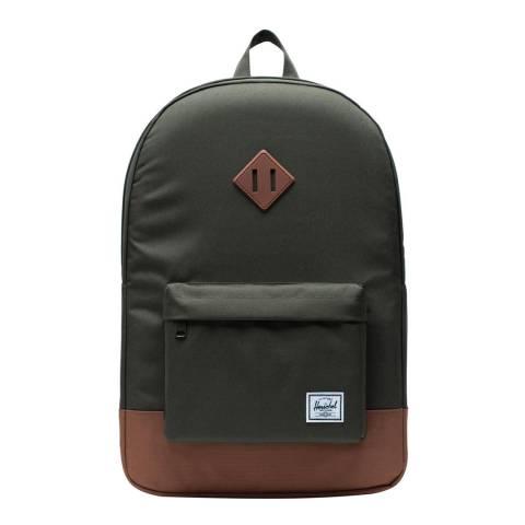 Herschel Supply Co. Olive Saddle Heritage Backpack