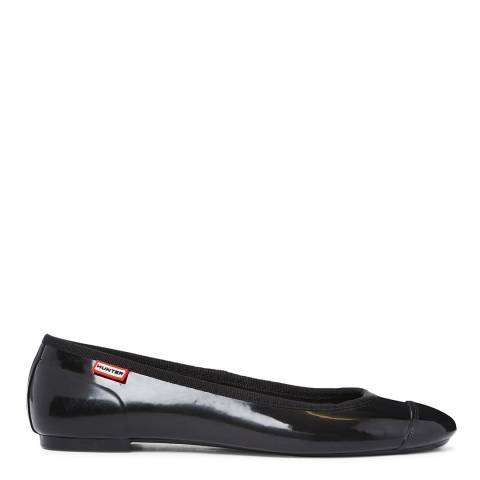 Hunter Black Original Ballet Flats