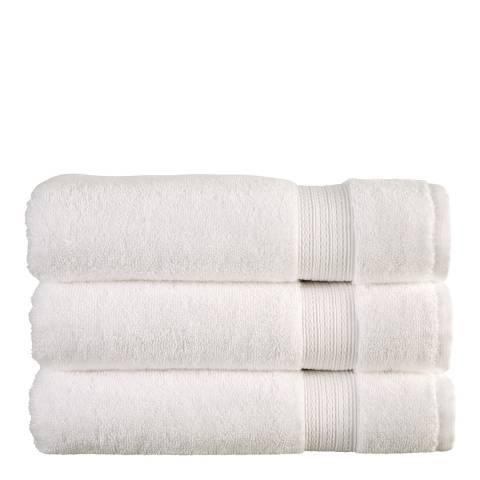 Christy Tempo Bath Towel, White