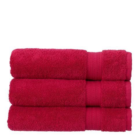 Christy Tempo Bath Sheet, Magenta