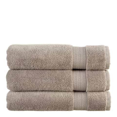 Christy Tempo Bath Sheet, Silver