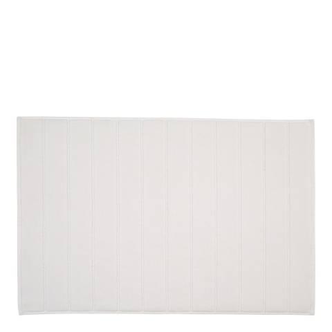 Christy Tempo Bath Mat, White