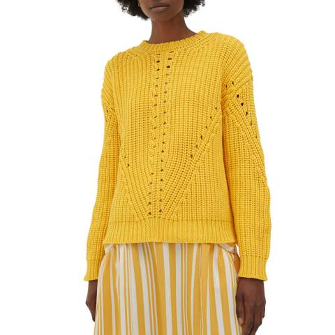 Chinti and Parker  Buttercup Le Soir Cotton Sweater