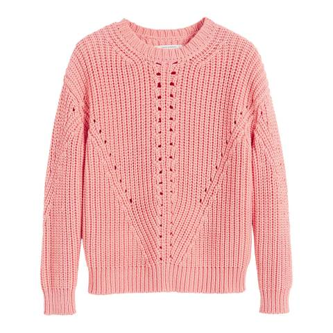 Chinti and Parker Dusty Rose Le Soir Cotton Sweater