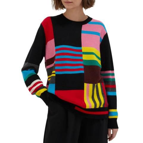 Chinti and Parker Multi Wool/cashmere Blend Eccentric Sweater
