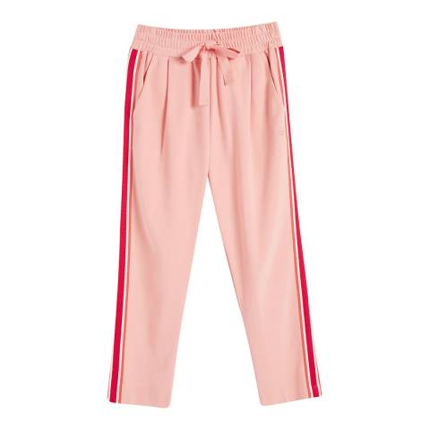Chinti and Parker Dusty Rose Side Stripe Sweat pant
