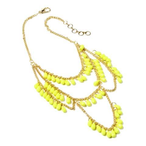 Amrita Singh Yellow Spring Street Necklace