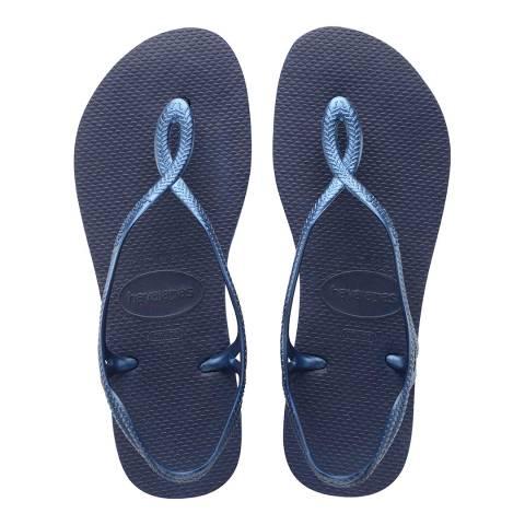 Havaianas Navy Blue Luna Sandals