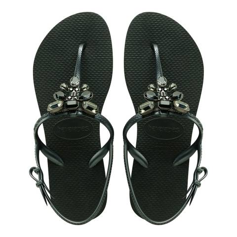 Havaianas Black Freedom Capri III Sandals