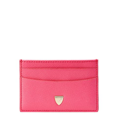 Aspinal of London Bright Pink Slim Card Case
