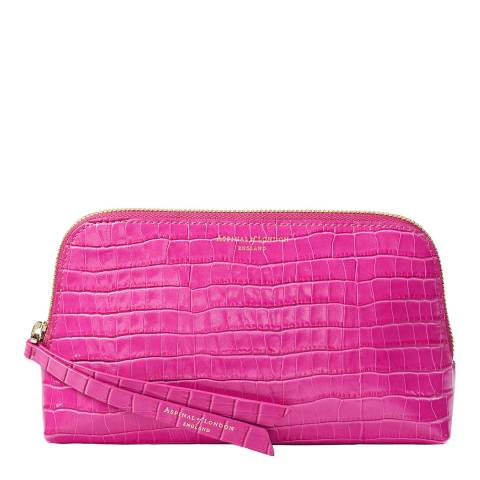 Aspinal of London Penelope Pink small Essential Cosmetic Case